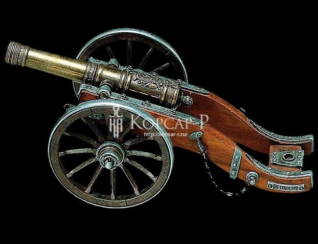 Пушка артиллерийская. Эпоха Людовика XIV. 18в.
