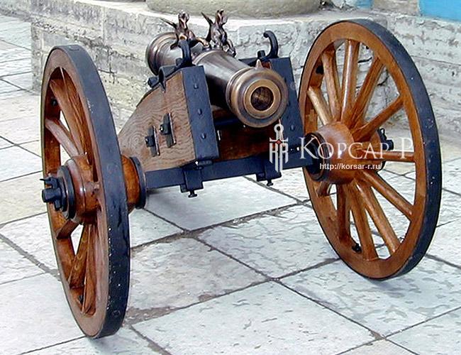Шуваловский Единорог 1 фунтовый. Образец 1775 г.