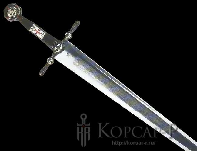 Подарок сувенир меч крестоносцев