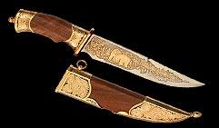 Нож украшенный  МИША