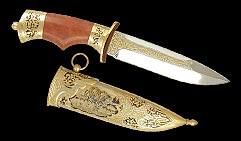 Нож охотничий украшенный  ТИГР  . (фокс-1).