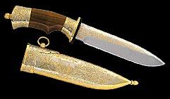 Нож охотничий украшенный  КОСУЛЯ  (фокс-2).