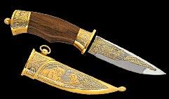 Нож охотничий украшенный  ДЖУНГЛИ  (фокс-1).