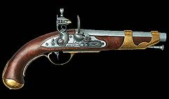 Французский кавалерийский пистолет