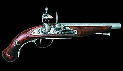 Французский пистолет пиратский. XVIIIв.