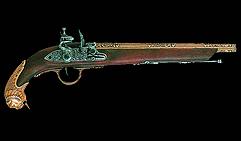 Пистолет Германия, ХVIIIв.