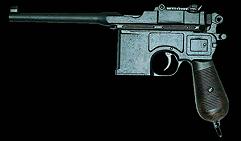 Маузер, калибр 7, 63. Разработан в 1898г.