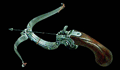 Арбалет с пистолетной рукоятью. Бельгия, XVIIв.