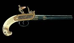 Кремниевый пистолет г. Тула начало XVIIIв.