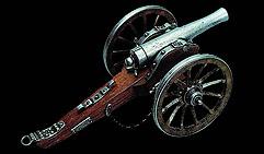 Пушка артиллерийская. Гражданская война 1861. США.