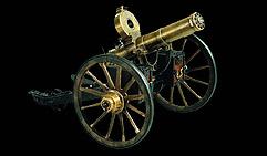 Пушка многоствольная мелкокалиберная. США. 1883.