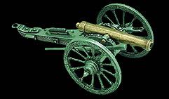 Пушка гражданской войны США. 1861г.