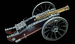 Пушка Наполеона, изготовленная Грибовалем. 1806.