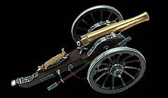 Пушка. Гражданская война 1861г. США.