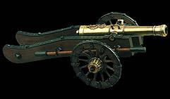 Пушка Наполеона, произв. Грибовалем, 1806 бол.