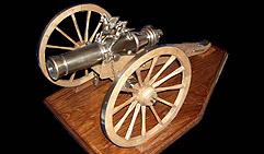 Шуваловский Единорог 3-х фунтовый. Образец середины XVIII в.