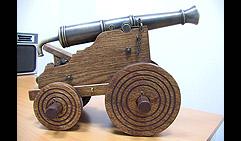 Пушка с ботика Петра I. (Петровская мортира).