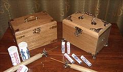 Сундучок или шкатулка для хранения мини фейерверков 1