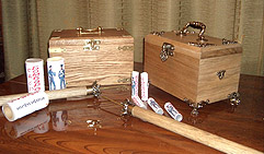 Сундучок или шкатулка для хранения мини фейерверков 2