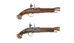 Пистоль системы флинтлок, 18 в.