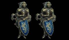 Крепление  Рыцарь  Латунь.