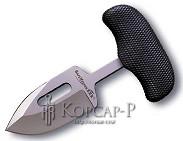 Нож  Самозащита3  сталь420, р. кратон, ножн. пл. фикс, клипса