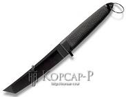 Нож  Танто  пластиков. засопожный, упор