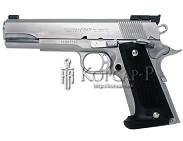 Пистолет  COLT NATIONAL MATCH  0, 5 J, пластик. , пружин.