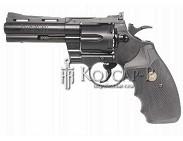 Пистолет  COLT PYTHON . 357 MAG 4 Black  метал. , 0, 5 J, газ. +доп. газ. балон.