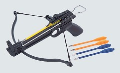 Арбалет-пистолет пласт, 50Lbs, 5 пласт. стрел, без упора