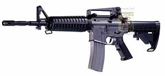 Модель пневмат. air-soft винтовка M4 A1, сист. BAX, электр, под обе руки