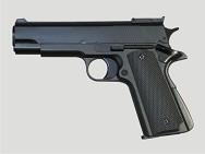 Модель пневмат. air-soft пистолет газовый, черный, пластик+металл