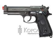 Модель пневмат. air-soft пистолет M92F, черный, утяжеленный