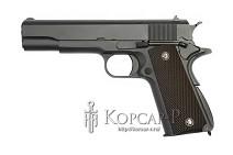 Модель пневмат. air-soft пистолет M1911A1, черный, утяжеленный