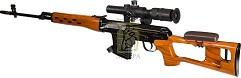Модель пневмат. air-soft винтовки M91-L Dragunov ASG/15189-004