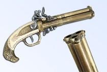 Пистоль трехствольный