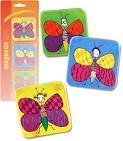 Набор из 3-х магнитов  Бабочки