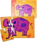 Паззл магнитный  Слон