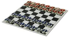Набор шахмат, медальоны (мет. средний)