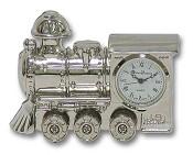 Часы хромированные  Поезд  в шкатулке