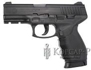 Пистолет  TAURUS PT 24/7  +фонарь, 0, 5J, пружин.