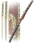 Катана  Минамото  самурайский меч