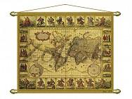 311/3 Панно (репродукция старинной карты) 103х85см