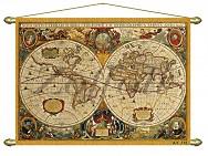 318/2 Панно (репродукция старинной карты) 71х50
