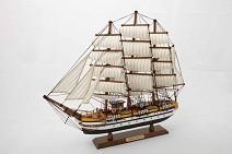 121027 Корабль  Америго Веспуччи  , 52*41см
