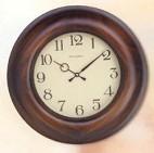 323 орех антик. Часы настенные d. 38