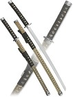 Набор самурайских мечей, 2 шт. подарочная коробка