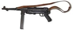 Автомат MP-40 с ремнем , (Schmeisser-MP), Германия, 2-я Мировая война