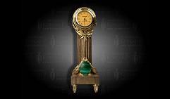 Часы  Картье  малахит