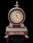 Часы Дидро массив кр. дер. , серебрение